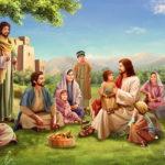 Иисус Христос и люди вокруг него