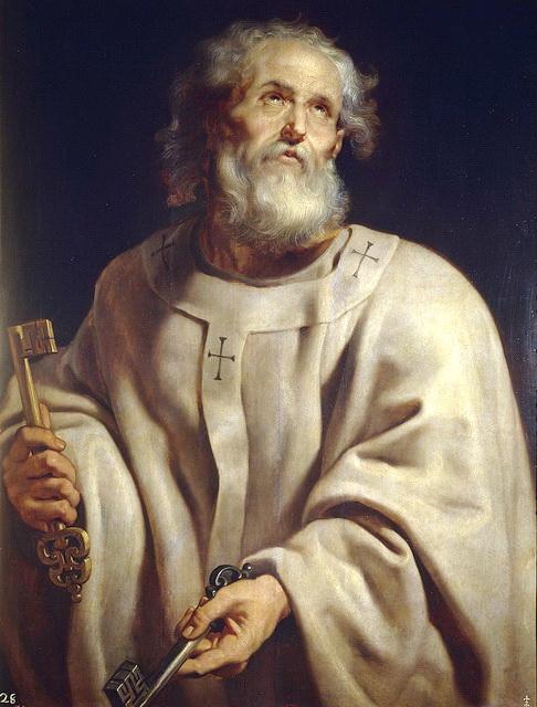 Апостол Петр с ключами
