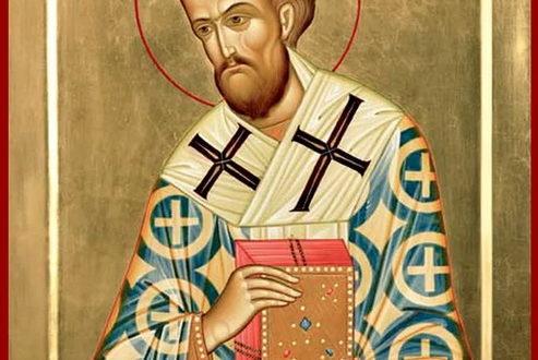 Икона Иоанна Златоуста