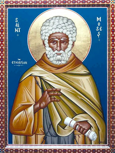Преподобный Моисей Мурин