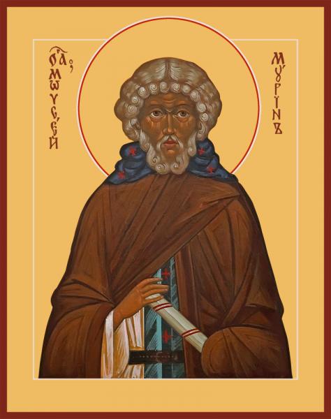 Икона святого Моисея Мурина