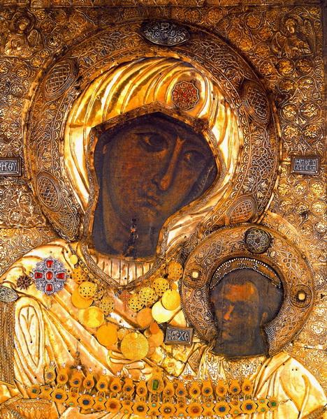 Оригинальная Иверская икона в Греции