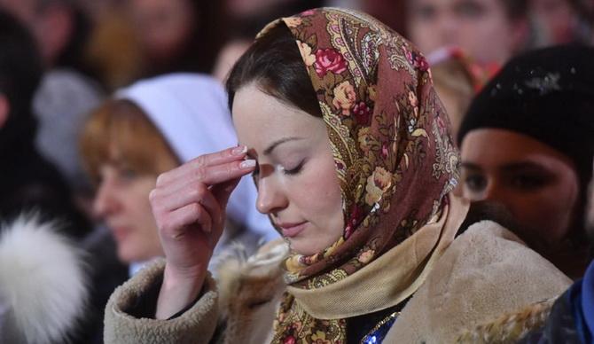 Как креститься православным