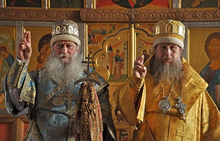 Крестное знамение у старообрядцев