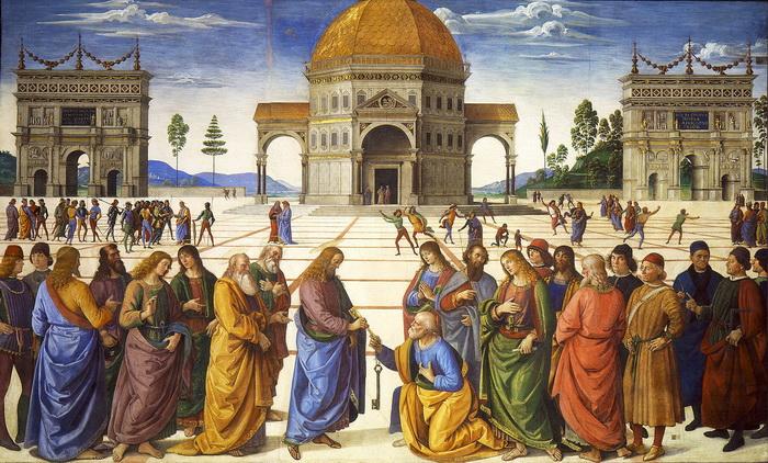 Вручение ключей апостолу Петру