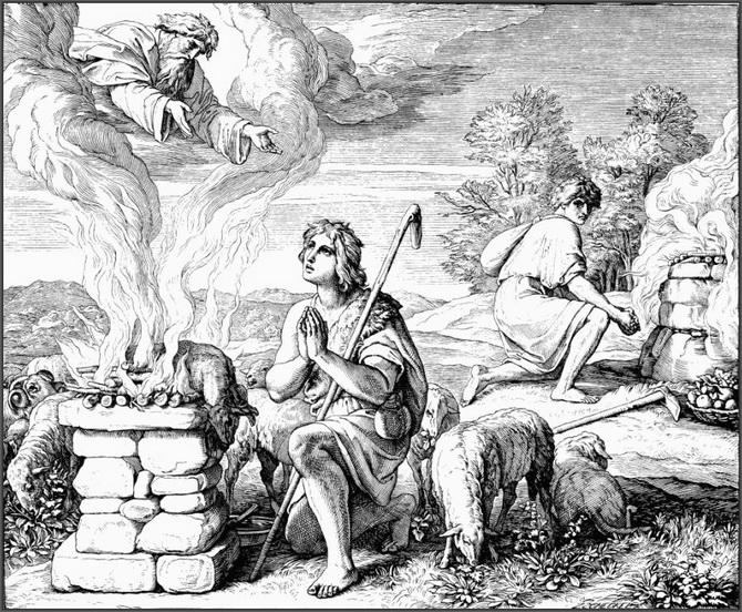 Почему Каин убил Авеля