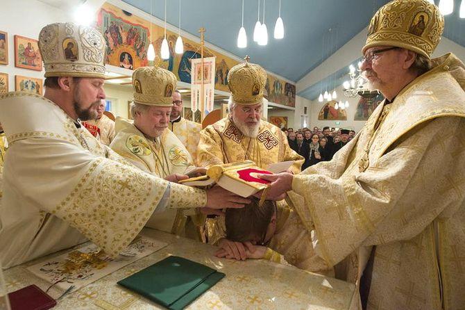 Рукоположение в сан епископа архимандрита Илии