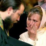 Текут слезы в храме
