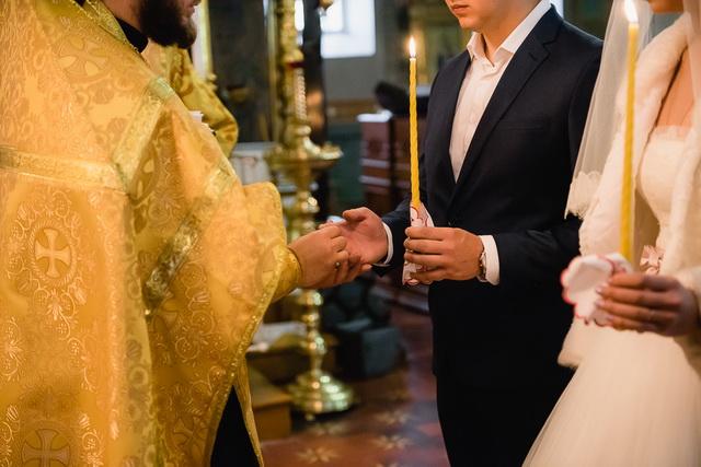Венчание в православной церкви