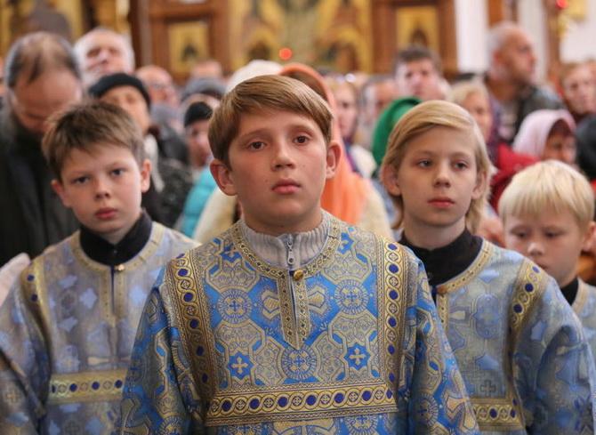 Воспитанники воскресной школы