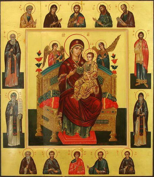 Икона Пресвятой Богородицы Всецарица (Пантанасса)