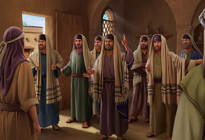 Изображение фарисеев