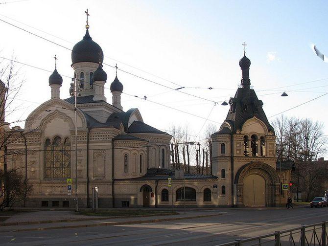 Петербургское подворье Валаамского монастыря
