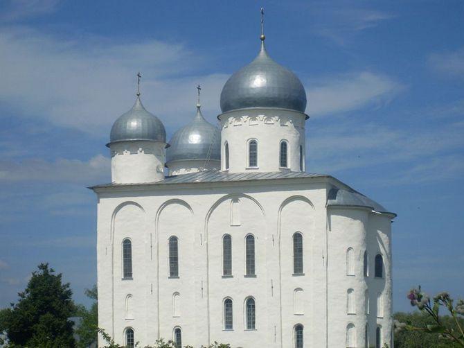 Георгиевский собор Юрьевого монастыря