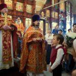 Священник храма Дмитрий Сорокин