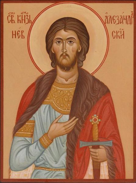 Икона благоверного князя Александра Невского