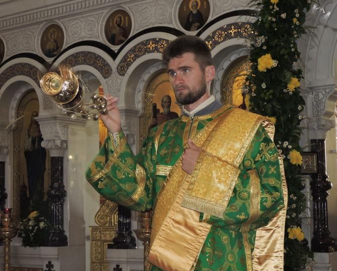 Клирик Свято-Владимирского кафедрального собора в Херсонесе