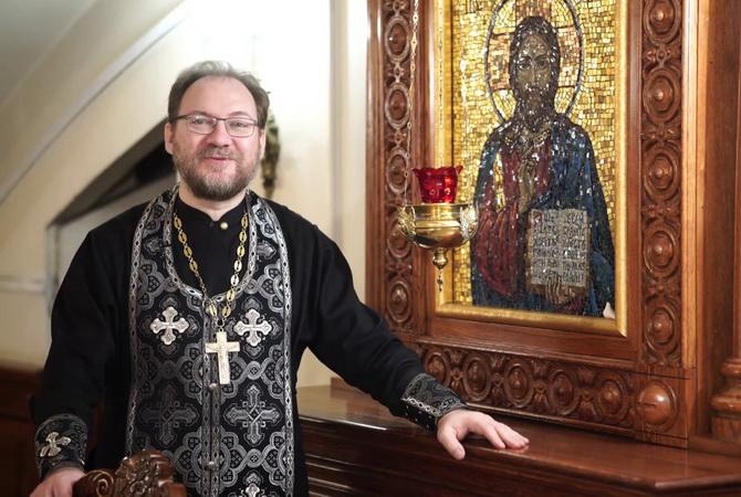 Священник Константин Пархоменко