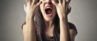 Проявление гнева