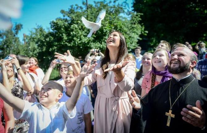 Православные радуются