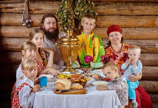 Счастливая семья, о которой мечтает женщина