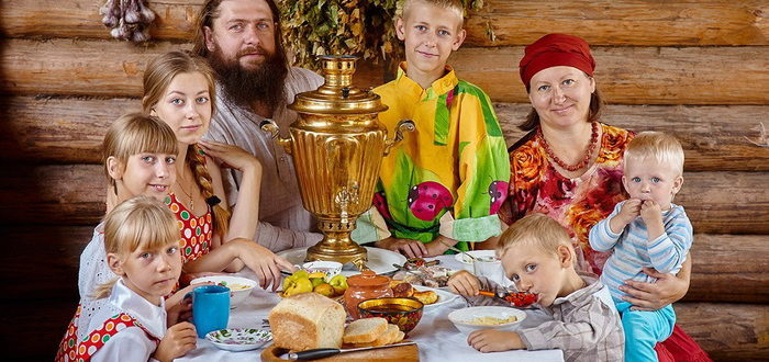 Семья протоиерея Димитрия Кадомцева