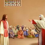 Беседа Иисуса Христа с фарисеями