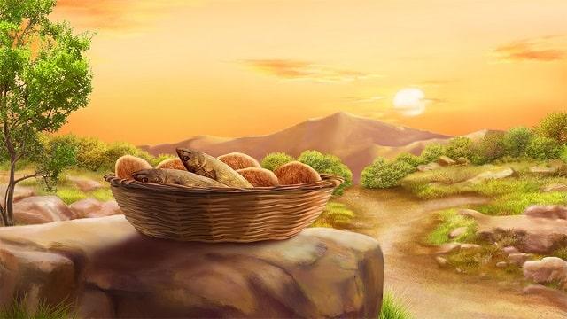 Чудо пяти хлебов и двух рыб