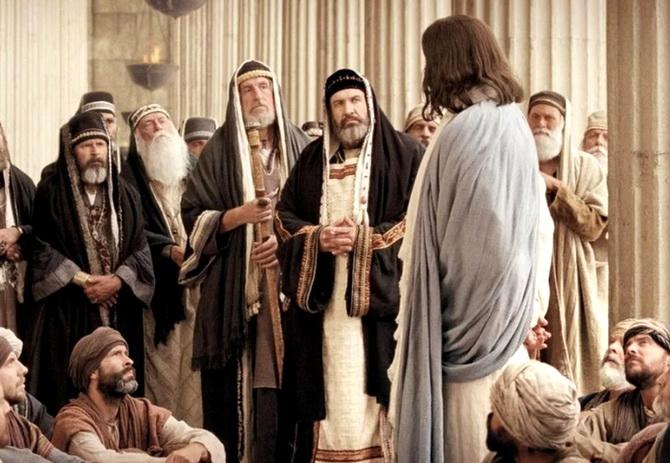 Иисус Христос и фарисеи