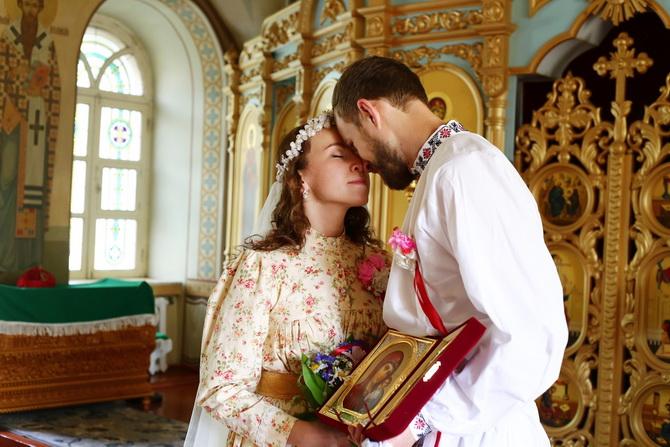 Православные супруги