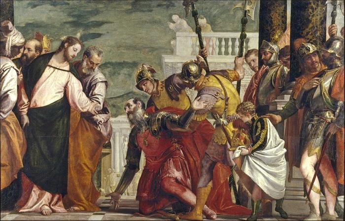 Исцеление сына Капернаумского царедворца