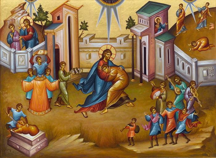 Покаяние блудного сына
