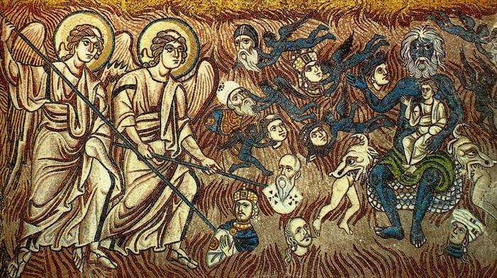 Страшный суд, мозаика собора в Торчелло