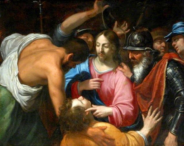 Чудесное исцеление уха первосвященнического раба Малха