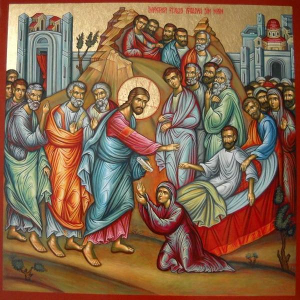Воскрешение сына вдовы Наинской