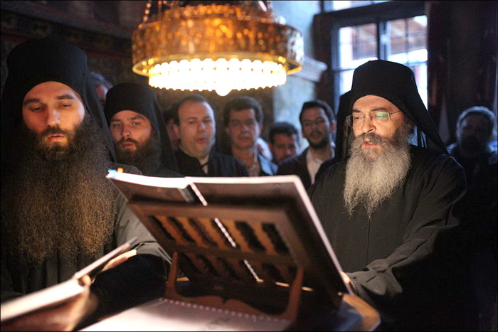 Молитва монахов