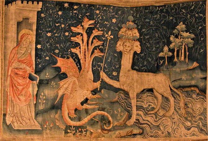 Апостол Иоанн Богослов и два зверя Армагеддона