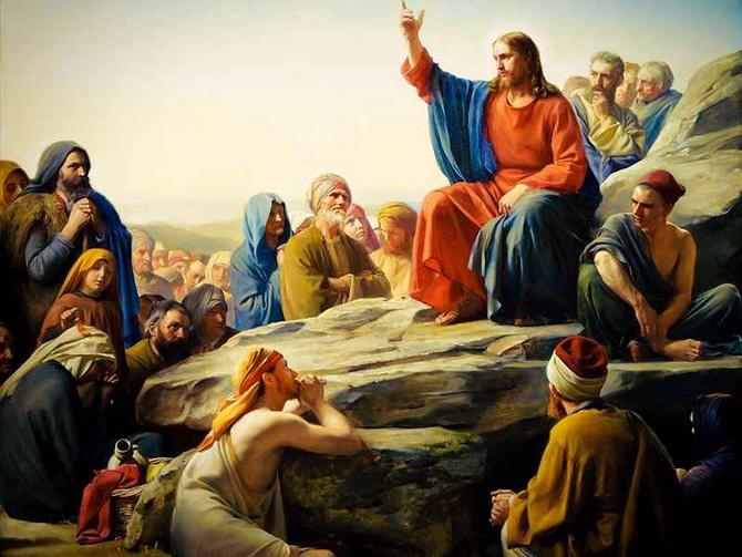 Иисус Христос проповедует