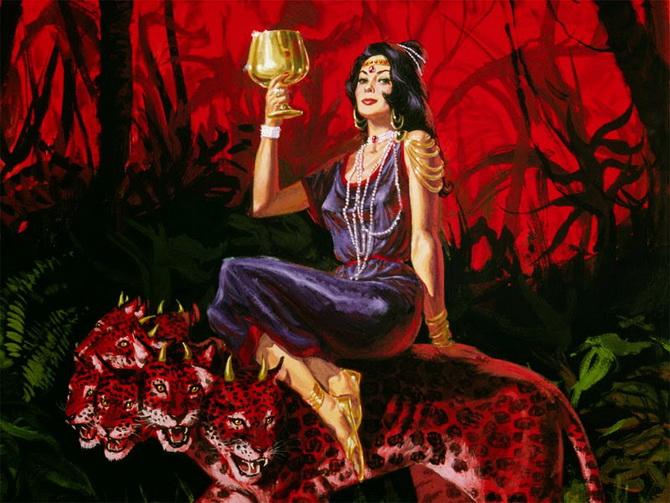 Образ Вавилонской блудницы