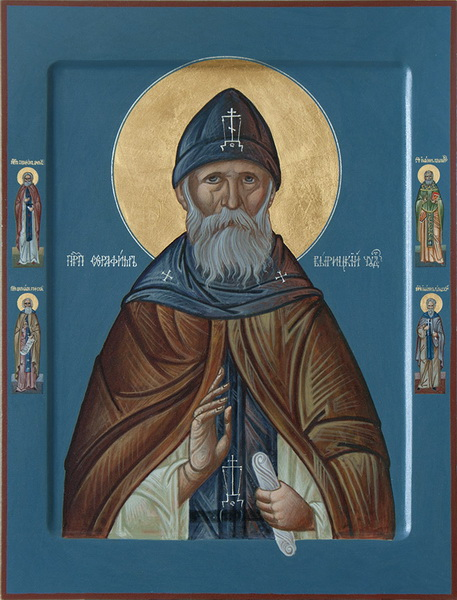 Икона преподобного Серафима Вырицкого