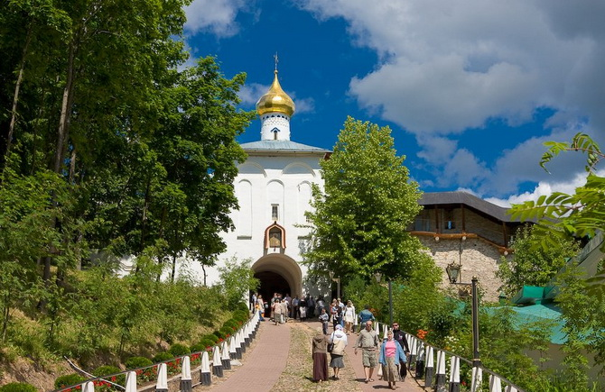 Чай из Псково-Печерского монастыря