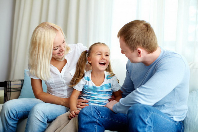 Ребенок и родители