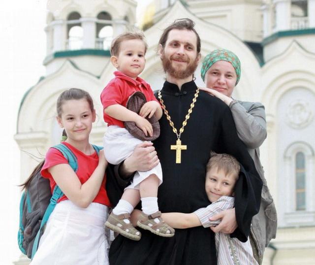 Семья священника