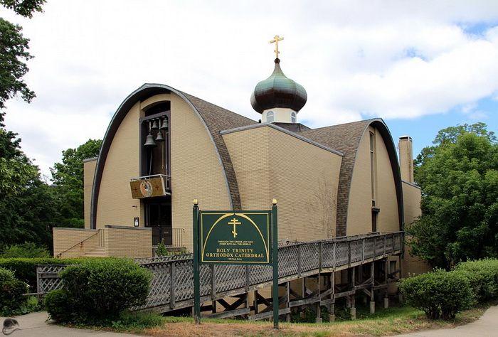 Собор Троицы Живоначальной в Бостоне