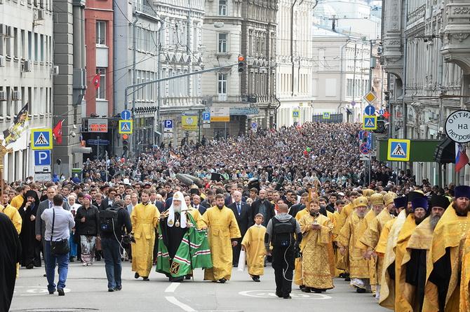 Крестный ход в Москве
