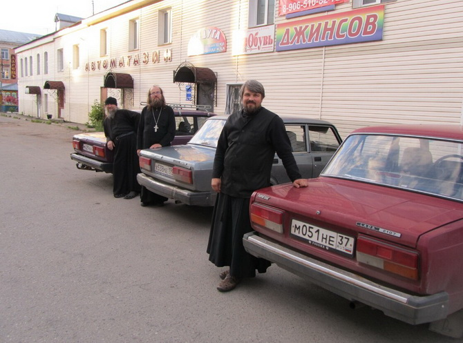 Священнослужители и их машины