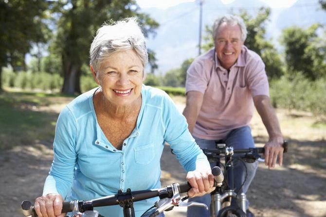 Счастливые люди в старости