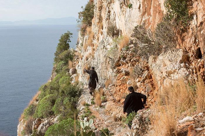 Физическая активность афонских монахов