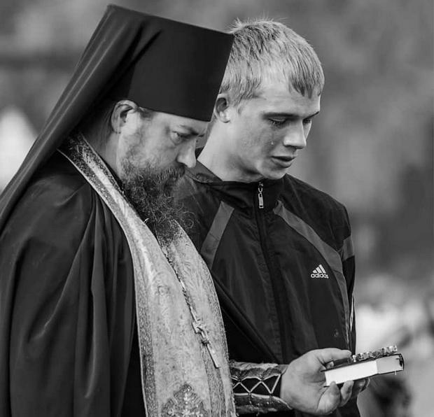Прихожанин и священник